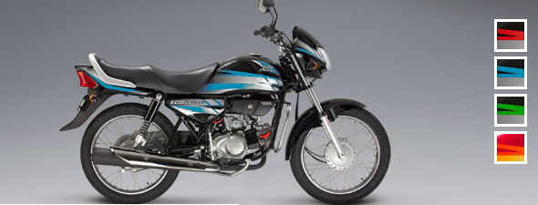 Honda Eco Deluxe: Color Azul-negro