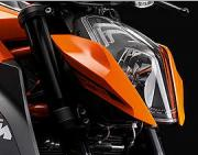 KTM 1290 Super Duke R ABS: Carenaje
