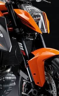 KTM 1290 Super Duke R ABS: Diseño Frontal