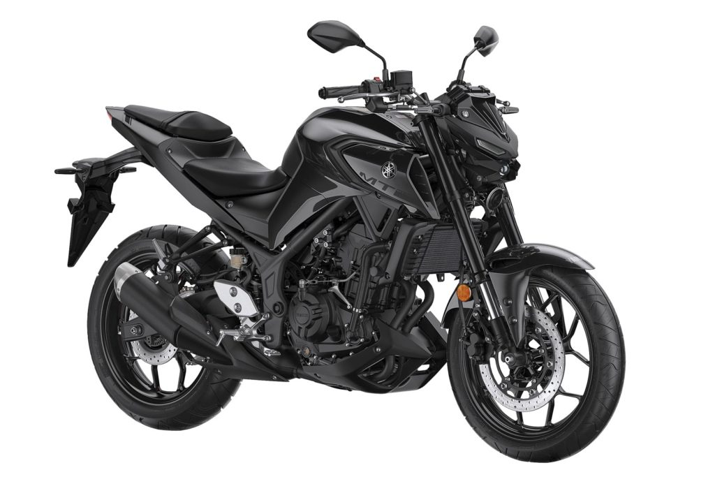 Nueva Yamaha MT-03 2020 ABS Color negro frontal