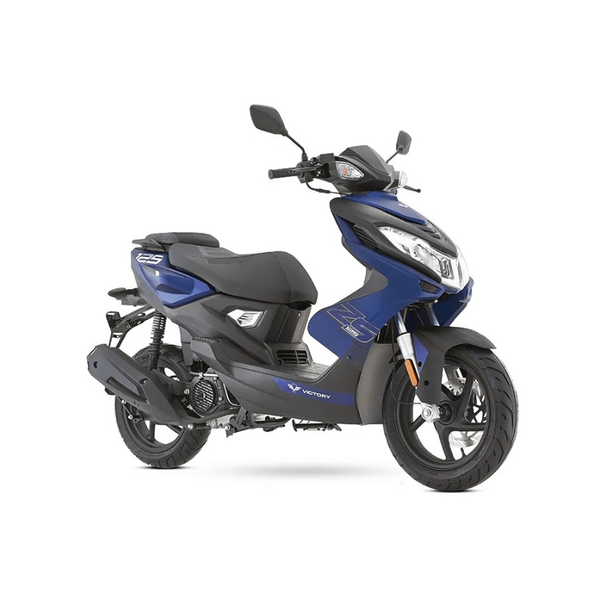 Victory ZS 125 color azul