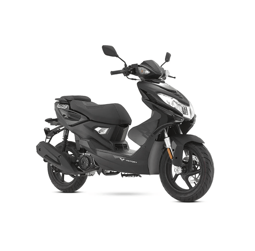 Victory ZS 125 color negro