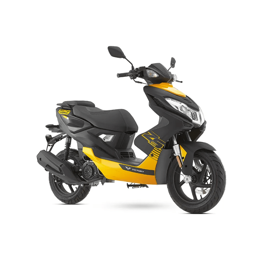 Victory ZS 125 color amarillo